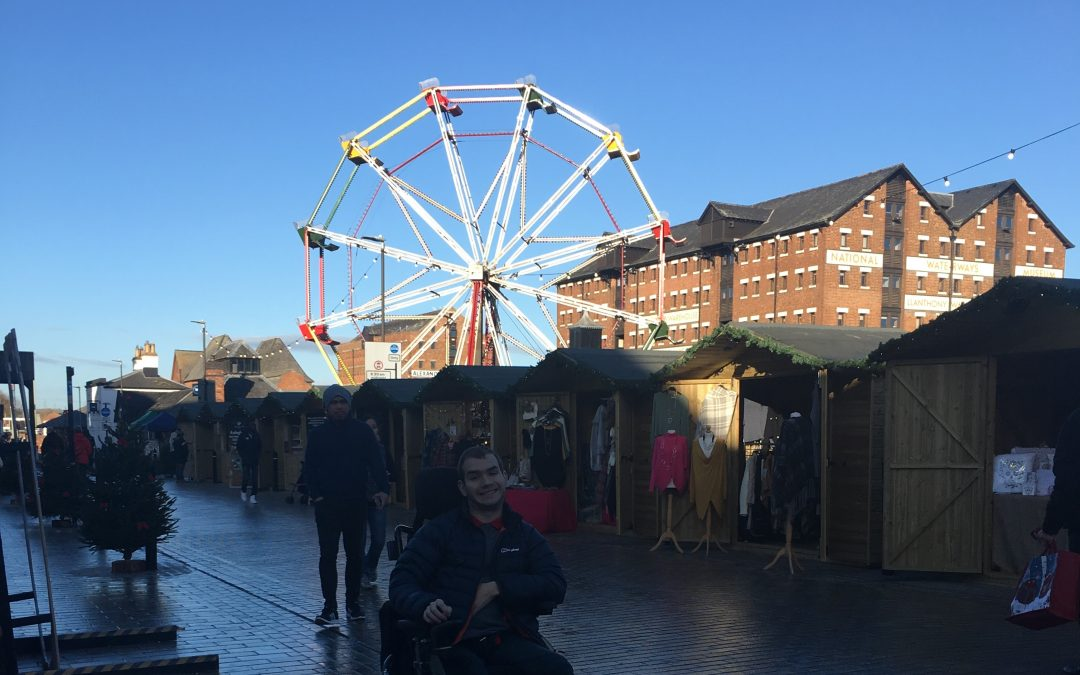 Christmas Market at Gloucester Quays