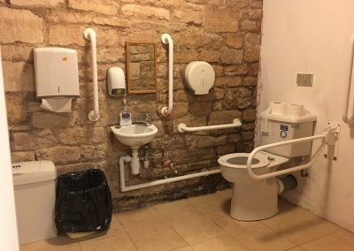 Image - inside downstairs accessible toilet and facilities
